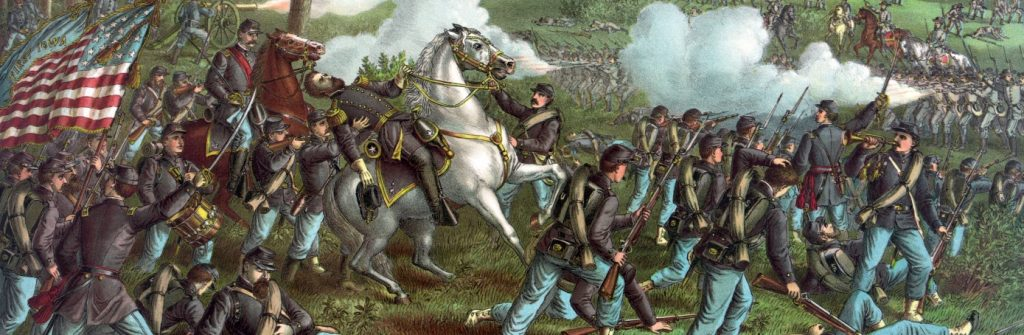 American Civil War poem What The Bullet Sang by Bret Harte