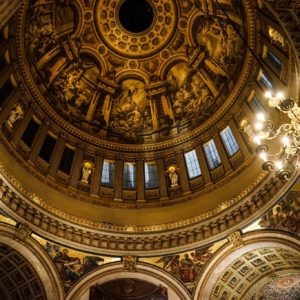 The magnificent dome of St Paul's Cathedral
