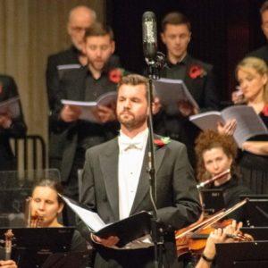 Bass baritone Edward Grint