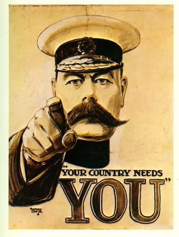 When the War Came - Lord Kitchener